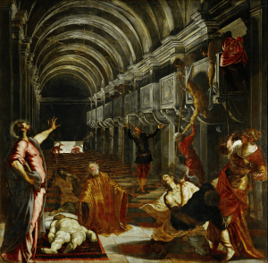 Tintoretto, Finding the body of St. Mark
