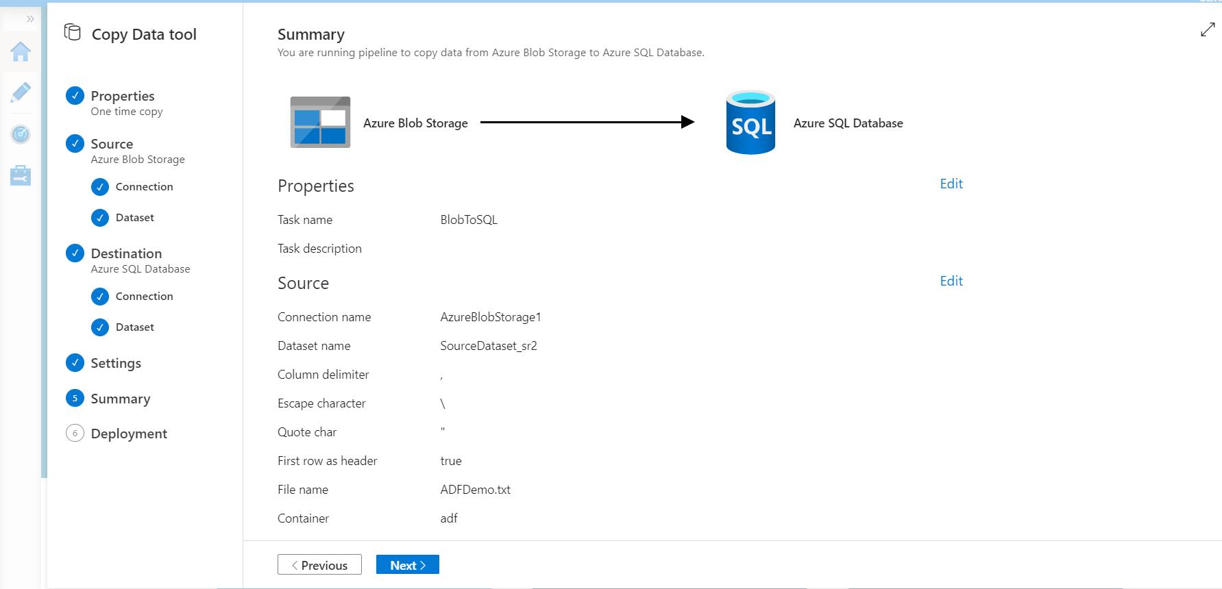 Copy Data Between Azure Data Stores Using Azure Data Factory