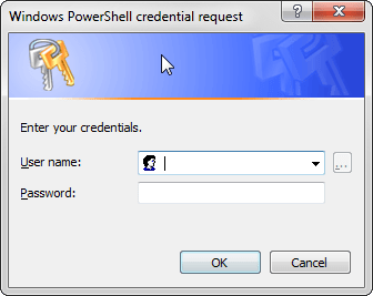 Get-Credential Window