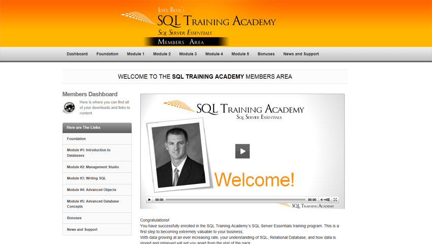 SQL Training Courses — SQL Training Online