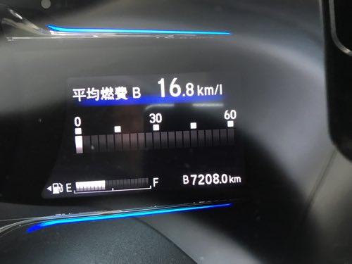 ホンダ ヴェゼル 燃費 17000km