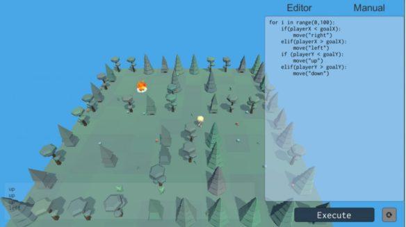 FireFinder user interface