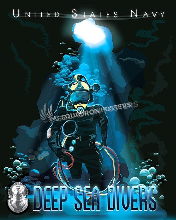 navy deep sea divers