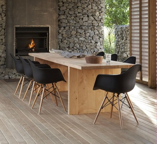 Squarcina VITRA Eames Plastic Chair DAW Squarcina
