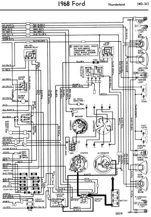 195868 Ford Electrical Schematics