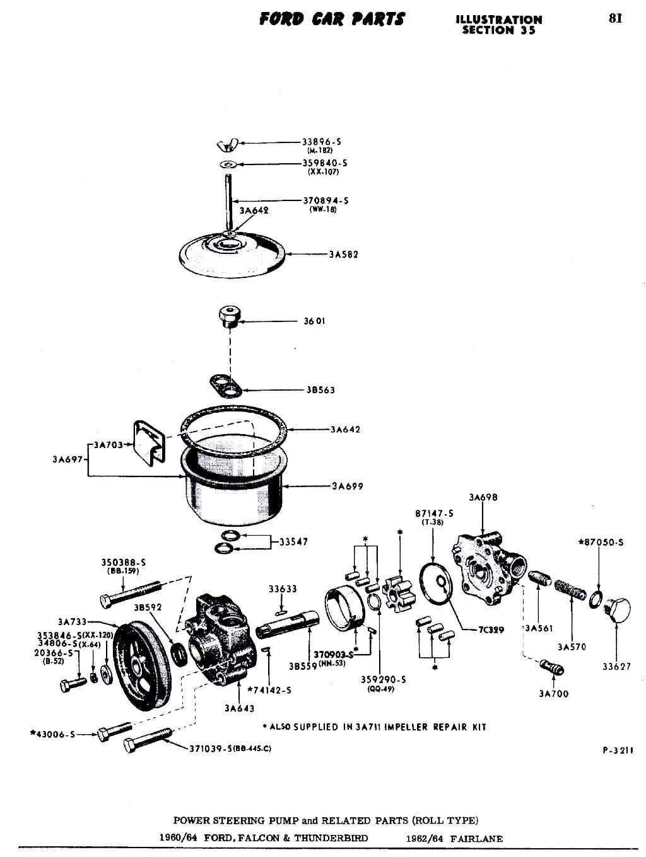 Ford Power Steering