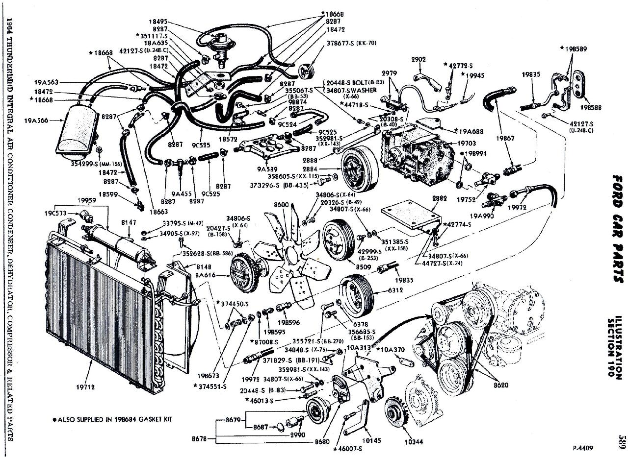 390 Cadillac Engine Vacuum Hose Diagram