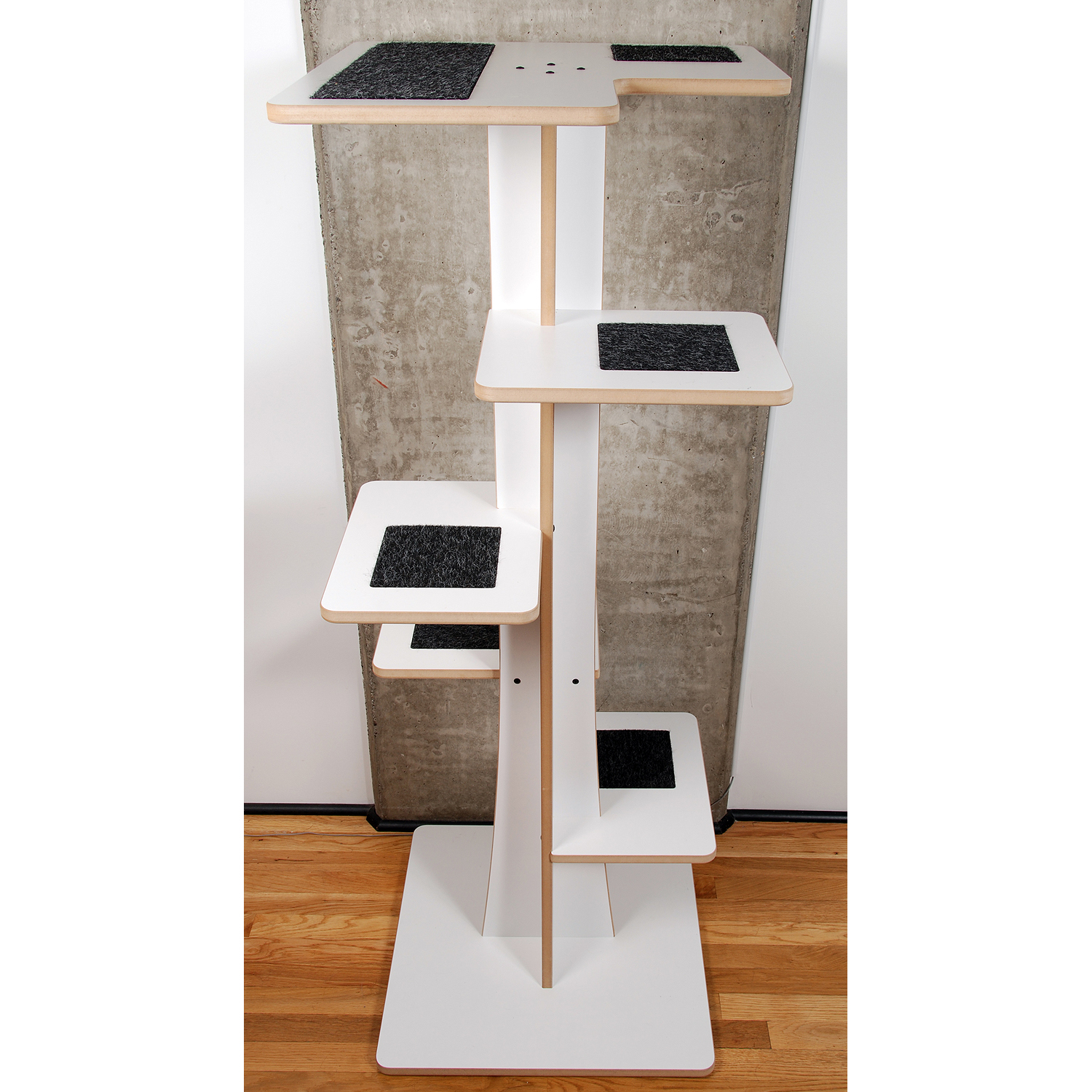 Modern Cat Tower 5 Tall Baobab Model Square Cat Habitat