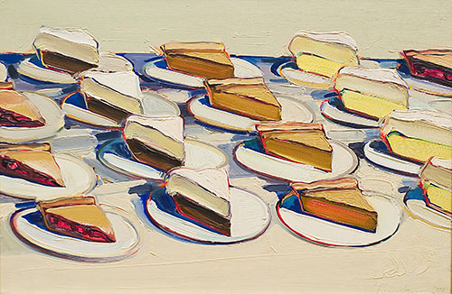 Image result for wayne thiebaud pies