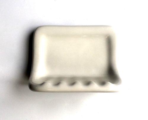 soap dish almond ceramic thinset mount 6 1 2 x 4 7 8