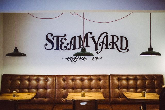Steam Yard by Georgina Martin