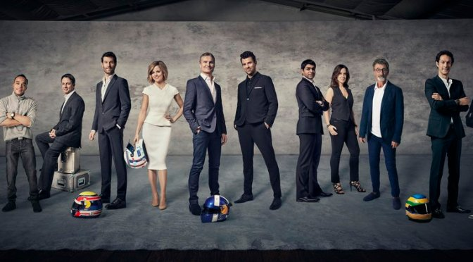 New Channel 4 F1 Lineup – looking good!