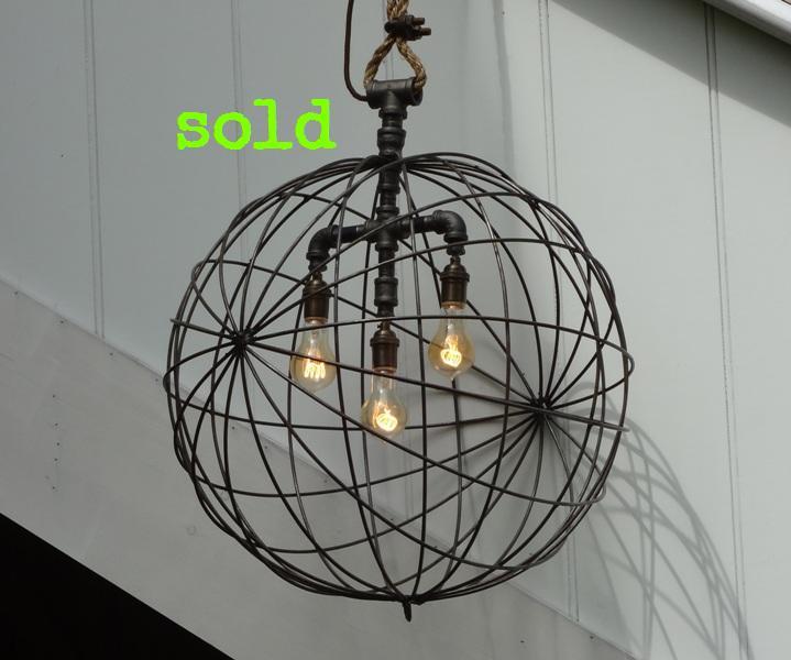 Large Sphere Pendant Light