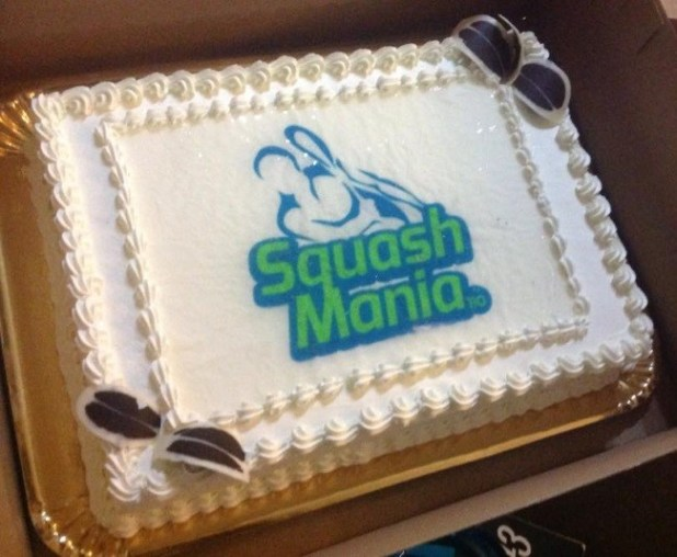 squashmania x-mas party - the cake