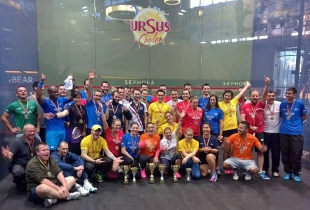 SquashMania pentru Romania - Romanian Open Squash 2014