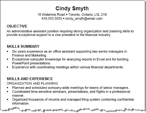 Sample Resume Job Title. Resume Titles Examples Resume Title