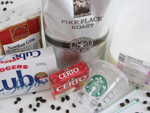 make a frappuccino