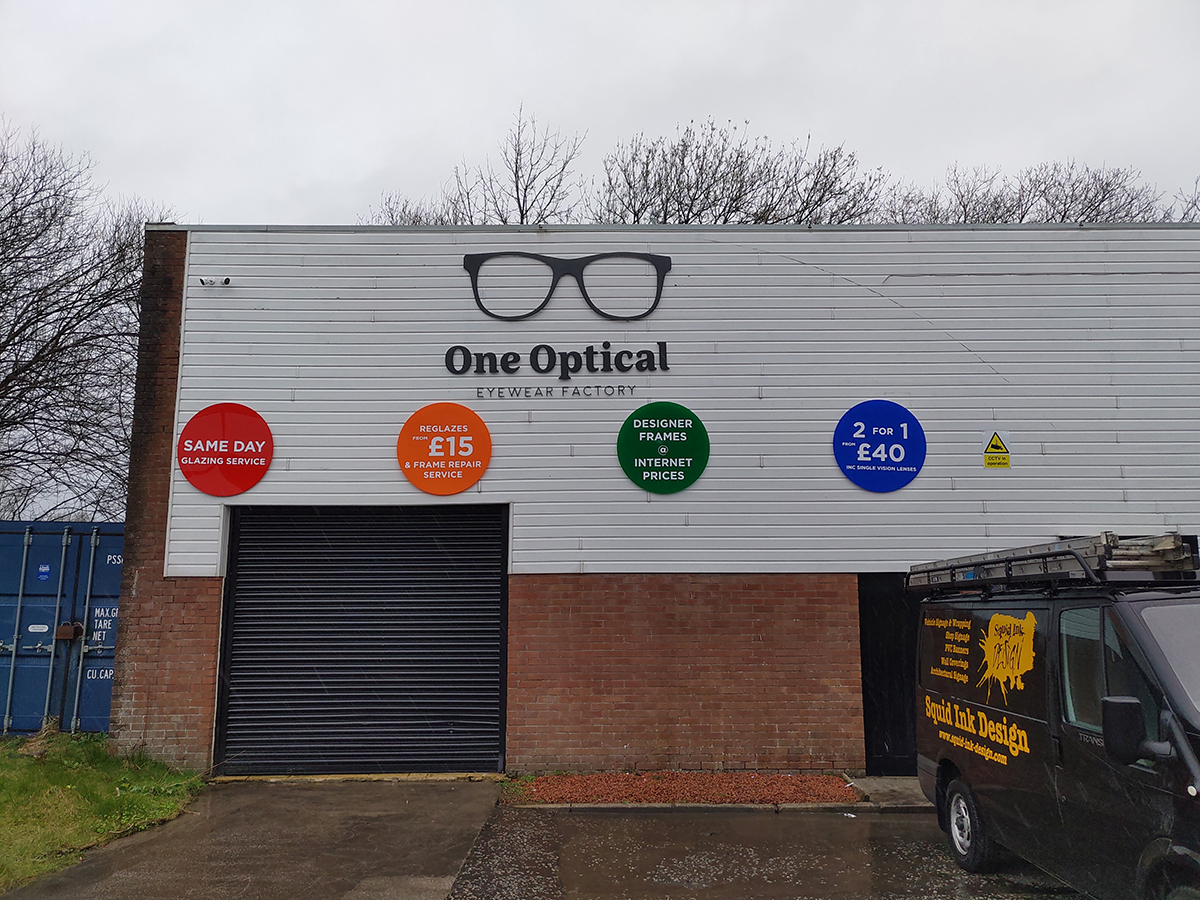 commercial signage