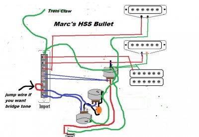 Fender Squier Affinity Telecaster Wiring Diagram
