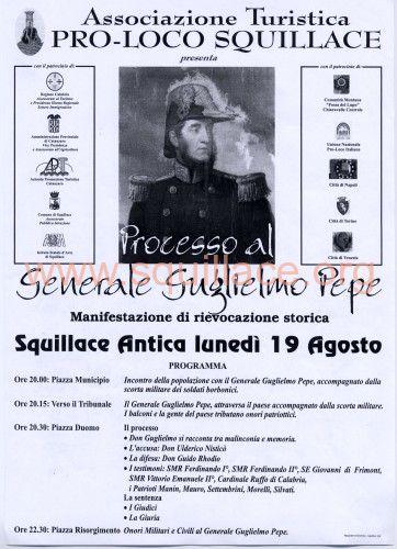 manifesto processo G.PEPE