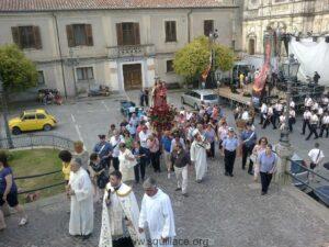 processione madonna carmelo squillace