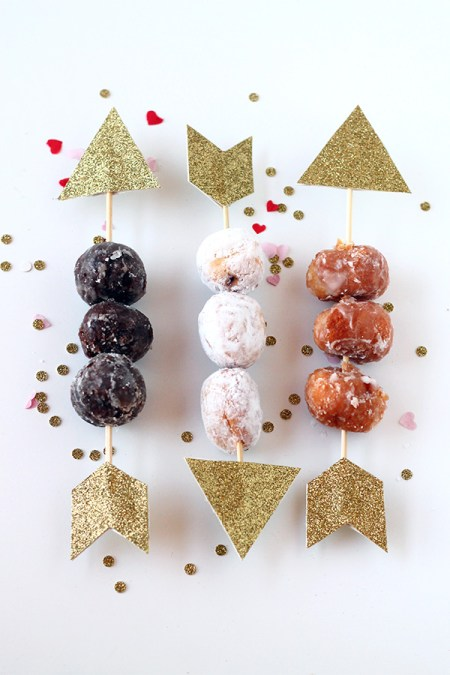 Cupid's Donut Hole Arrows | Squirrelly Minds
