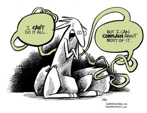 logic of complaining