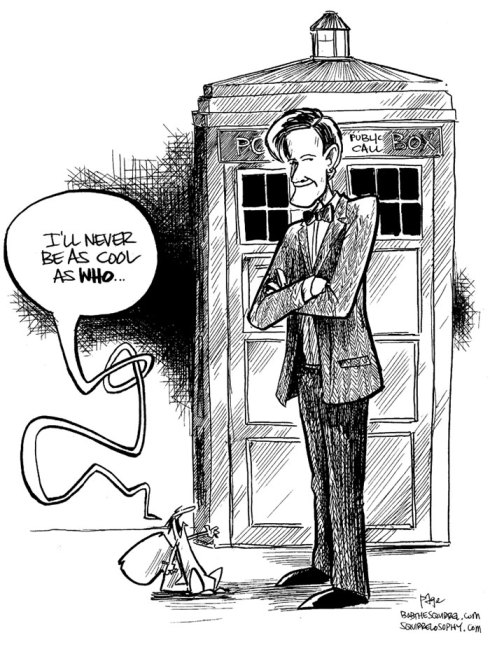 bob the squirrel and doctor who