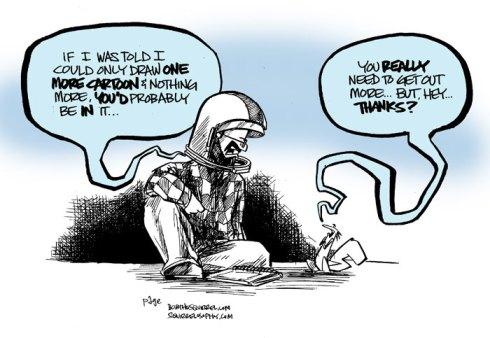 last cartoon