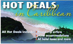 Promotional Image Of Hot Deals In The Caribbean