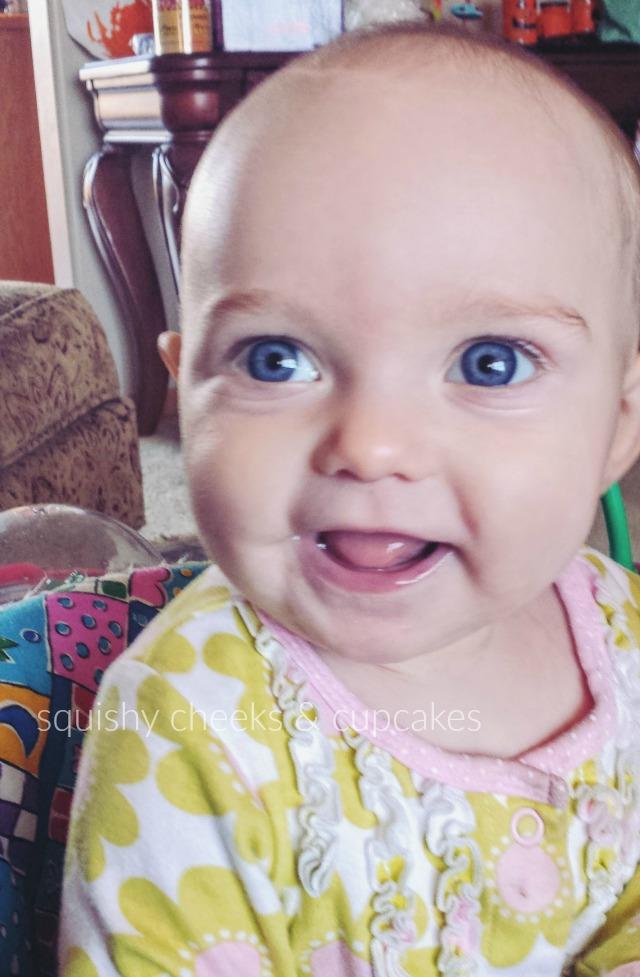 Breastfeeding - Seven Months -- squishycheeksandcupcakes.com