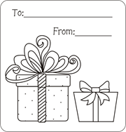 christmas gift tags gift tags to color christmas coloring pages
