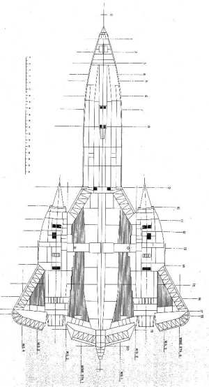 Schematic of the SR71