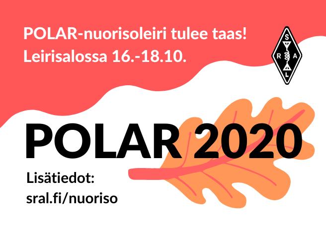 POLAR-leiri PERUTTU - korvaavaa ohjelmaa tulossa /POLAR-lägret inställt - ersättande program anordnas