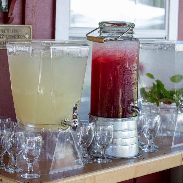 Various drink dispensers