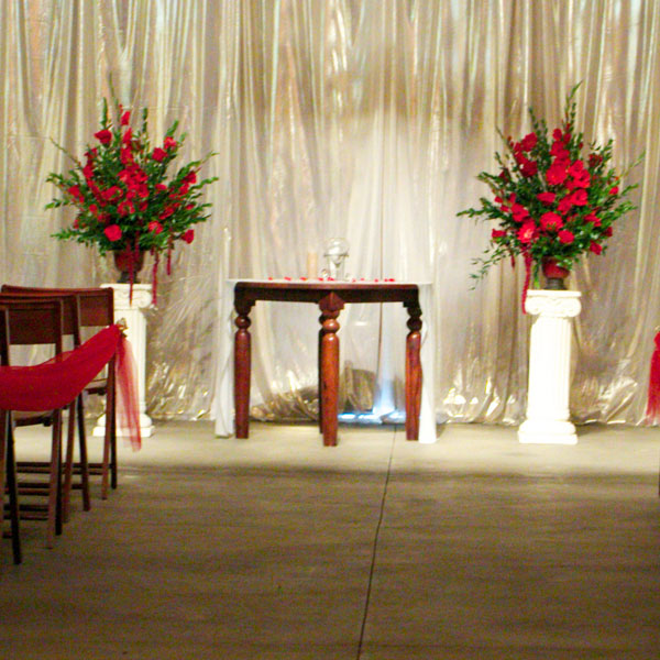 columns or pedestals for display at event