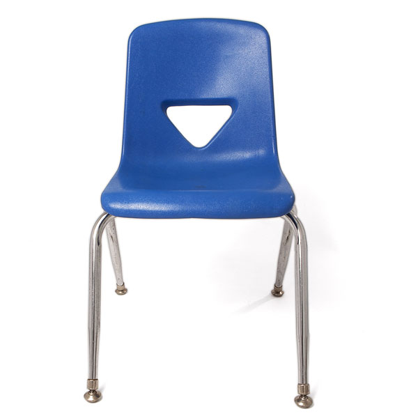 Blue child's chair
