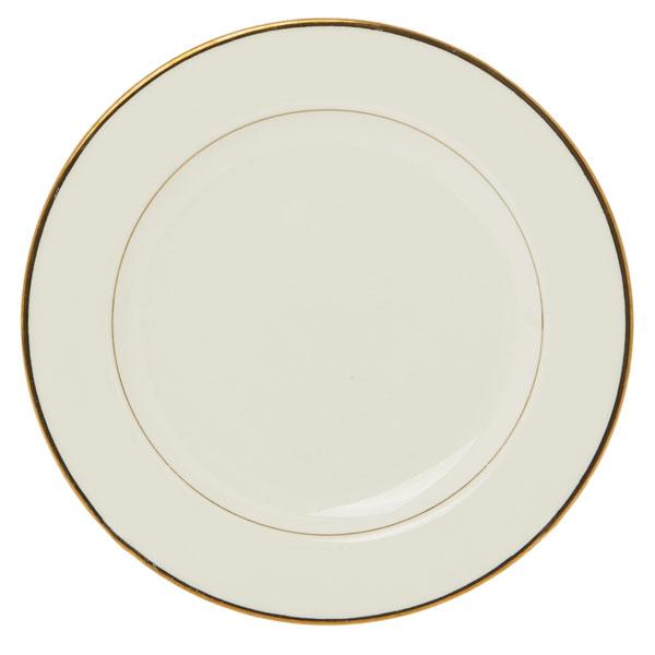 Victoria gold rim plate