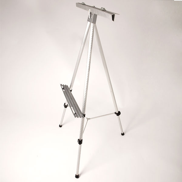 Metal adjustable easel
