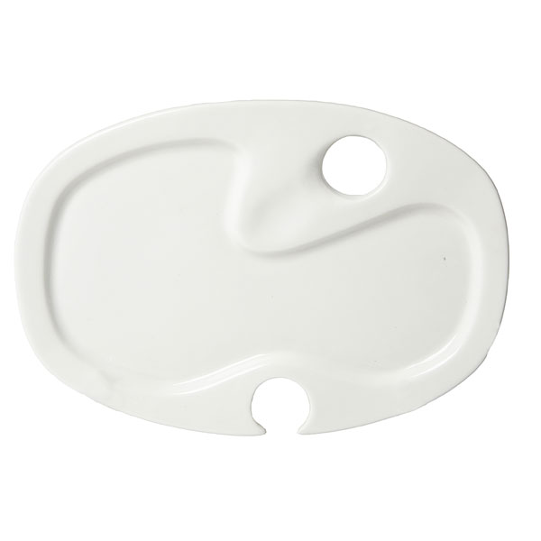Rectangle cater plate