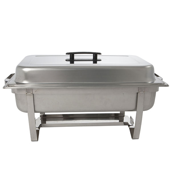 8 Qt. chafing dish - use with 1-full pan or 2-half pans