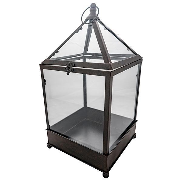 glass terrarium card box