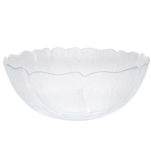 Magnolia design serving bowl
