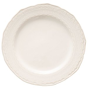 Sierra Lace is a beautiful lace-edged china that is perfect for any event,