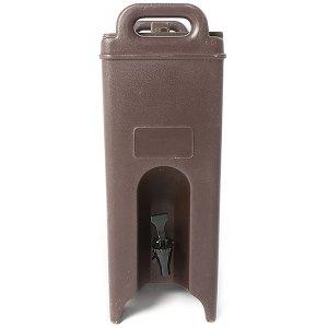 Brown insulated server - 5 gallon
