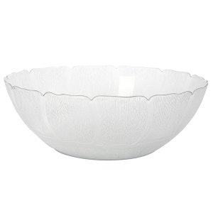 Plastic acrylic Magnolia bowl