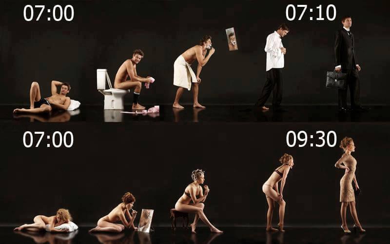 Muško – ženske navike