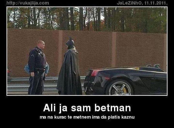 E moj Batmane, loš pokušaj…
