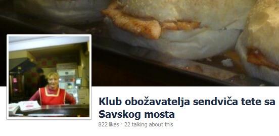 Teta sa sendvičima na Savskom mostu osvaja Zagreb