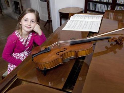 Sedmogodišnjakinja je novi Mozart
